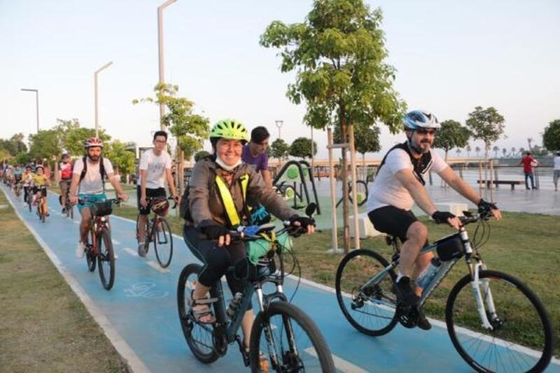 15 Temmuz Demokrasi ve Milli Birlik Günü dolayısıyla bisiklet turu