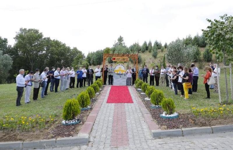 Trakya Üniversitesi senato üyeleri saygı yürüyüşü gerçekleştirdi
