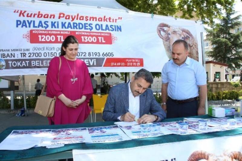 Başkan Eroğlu: Kurban bağışlarınızı ihtiyaç sahiplerine ulaştırıyoruz