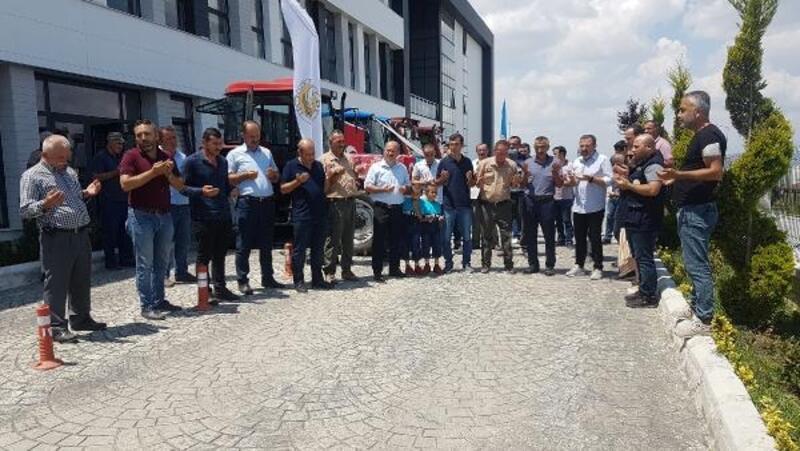 Erbaa Orman İşletme Müdürlüğü'nden köylülere traktör desteği
