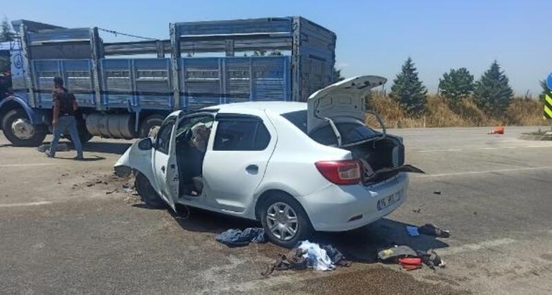 Karacabey'de kaza: 1 yaralı