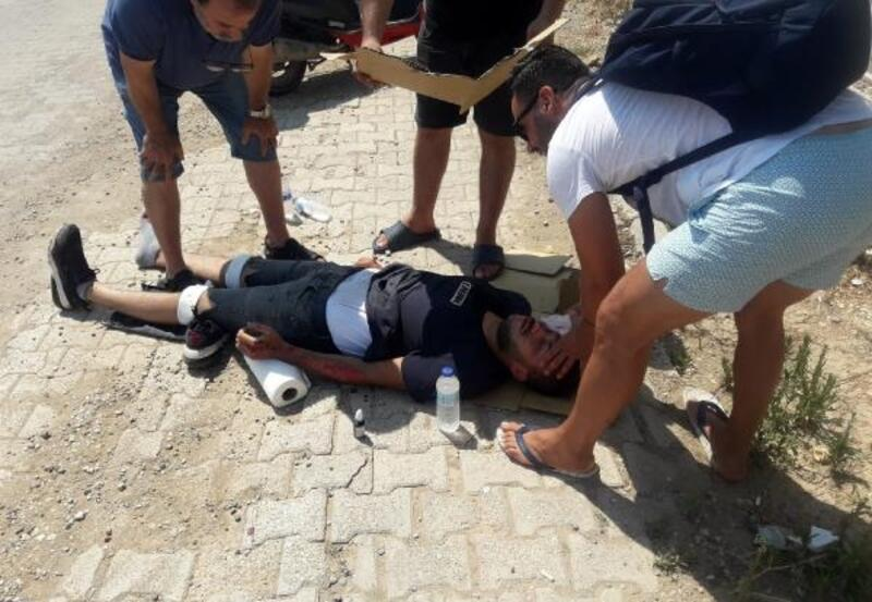 Serik'teki kaza: 1 yaralı