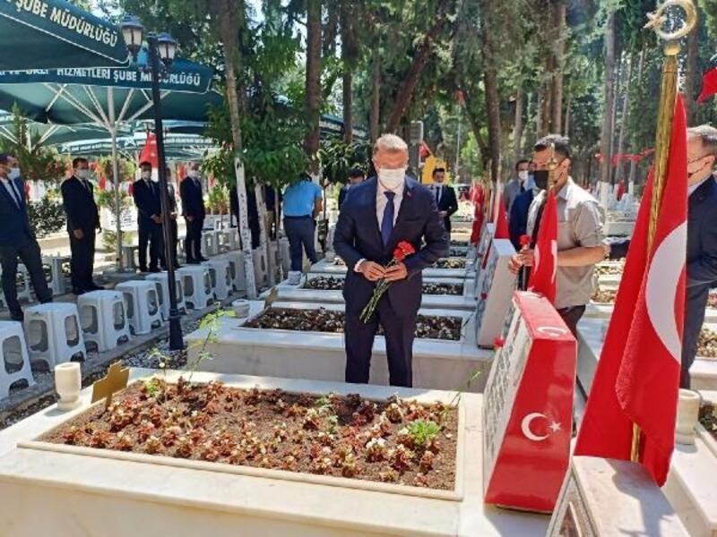 Cumhuriyet Başsavcısı Öztoprak, 15 Temmuz şehitlerini andı