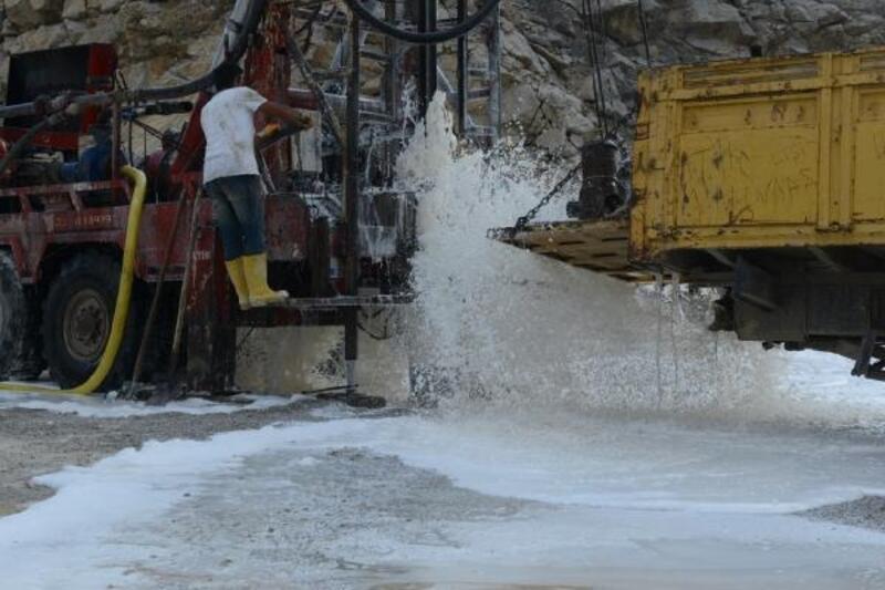Sondajda kentin içme suyu ihtiyacının yüzde 20'sini karşılayacak su bulundu