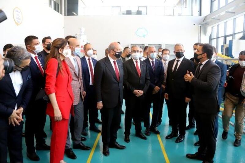 Cumhurbaşkanı Tatar'dan MTOSB'ye ziyaret