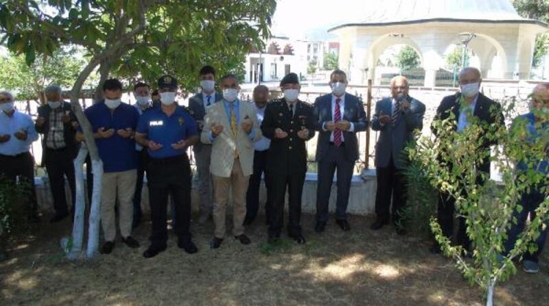 İslahiye ve Nurdağı'nda şehitlik ziyareti