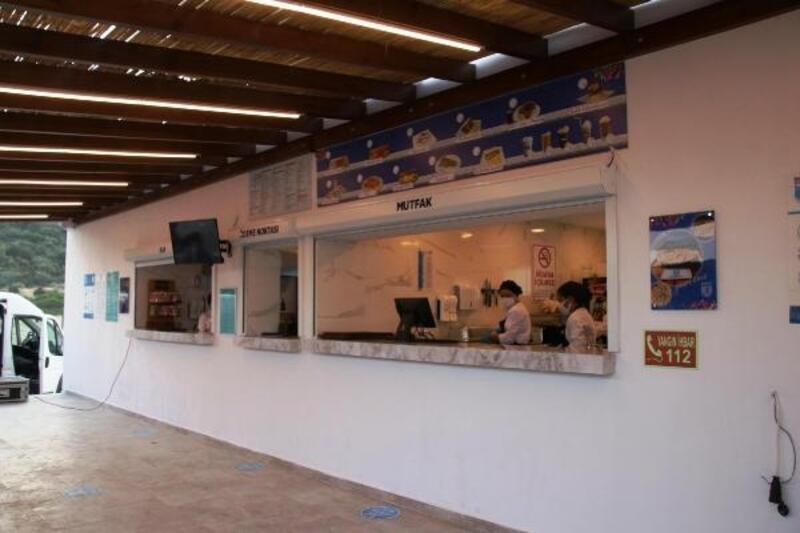 Bodrum'da 22. plaj kafe Gerenkuyu'ya açıldı