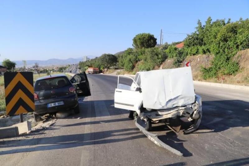 Burdur'da kaza: 4 yaralı