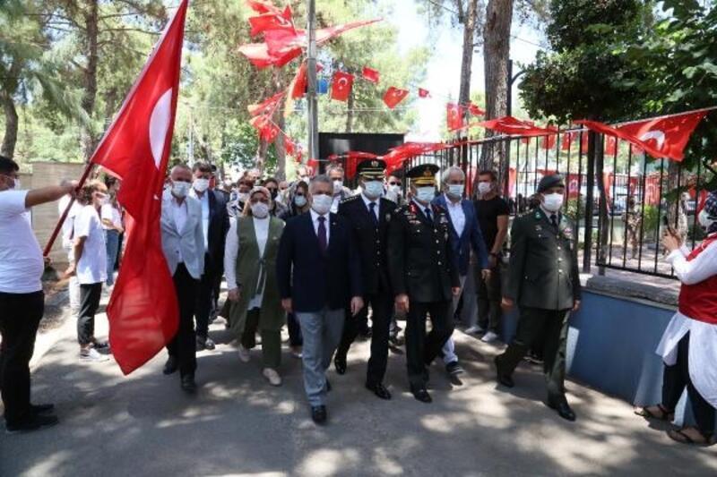 15 Temmuz şehidi Kılınç'ın mezarına ziyaret