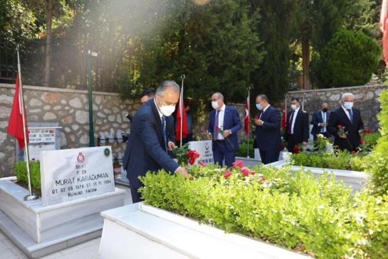 Bursa'da 15 Temmuz şehitleri anıldı