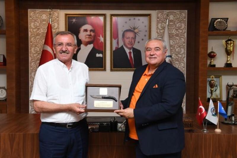 ATSO Başkanı Çetin Serik'te
