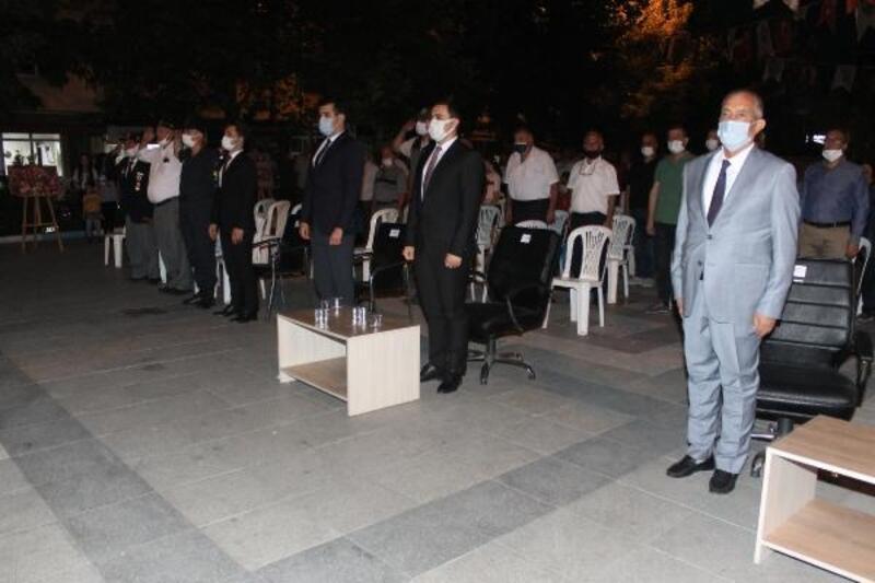 Manyas'da 15 Temmuz'u anma etkinliği düzenlendi