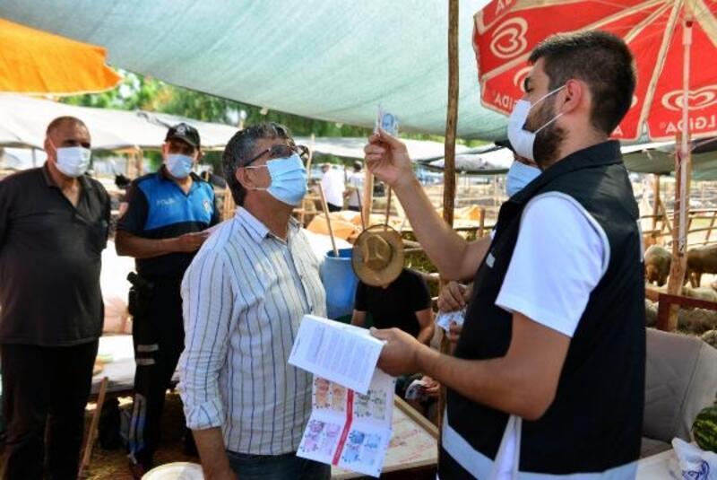 Polisten kurban pazarında 'sahte para' uyarısı