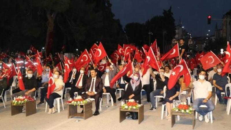 Burdur'da 15 Temmuz anma programı