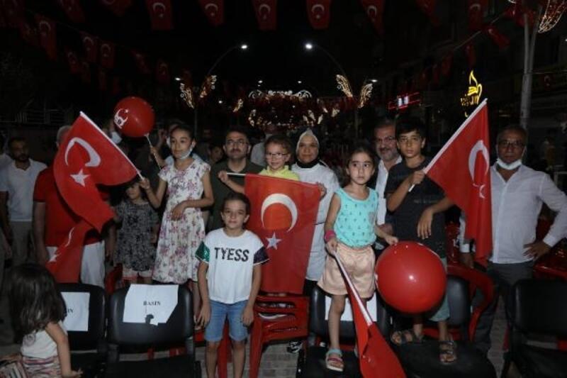 Kızıltepe'de 15 Temmuz şehitleri anıldı
