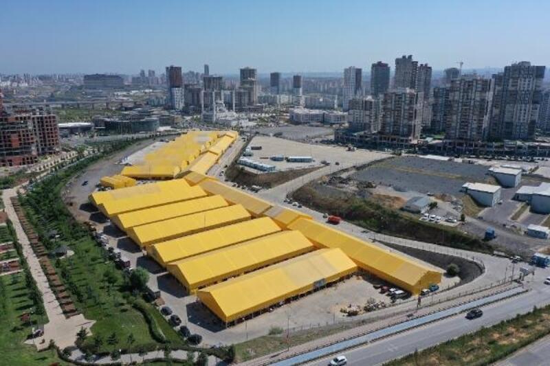 İBB'nin kurban satış ve kesim alanına Başakşehir ilçe sakinlerinden şikayet