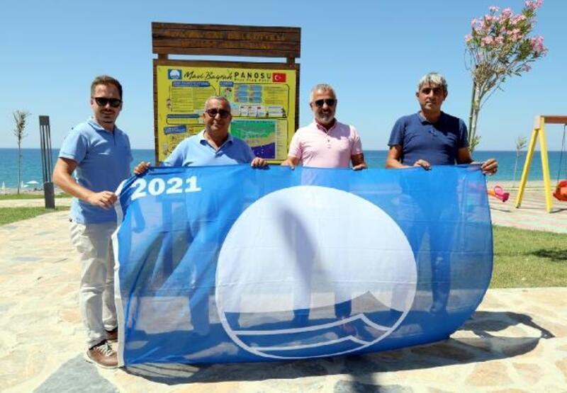 Kızılot Halk Plajı mavi bayraklandı