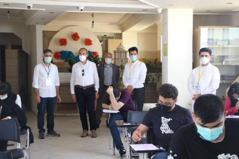 SCÜ'nün yabancı öğrenci sınavına ilgi