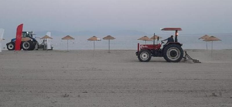 Didim ve Kuşadası plajları bayrama hazır