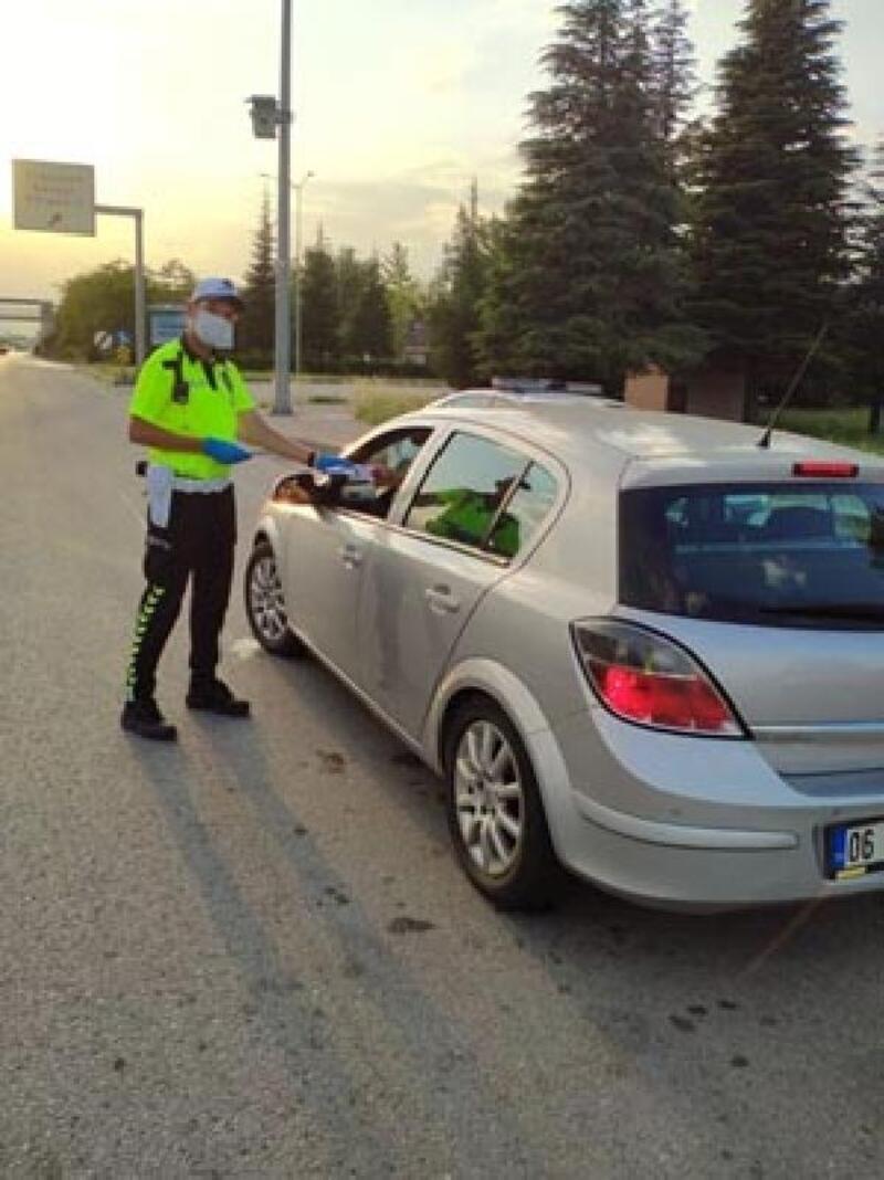 Eskişehir'de 4 gün 7 bin 669 araç kontrol edildi
