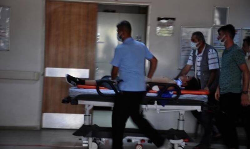 Otomobil ile motosiklet çarpıştı:2 yaralı
