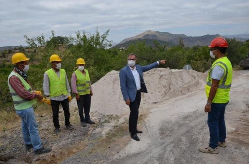 Başkan Özdoğan, doğalgaz çalışmalarını inceledi