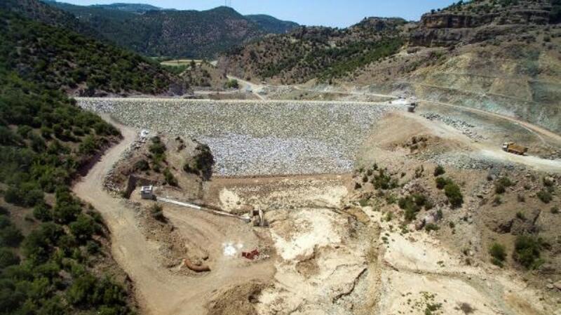 Güveli Barajı bu kış su tutacak