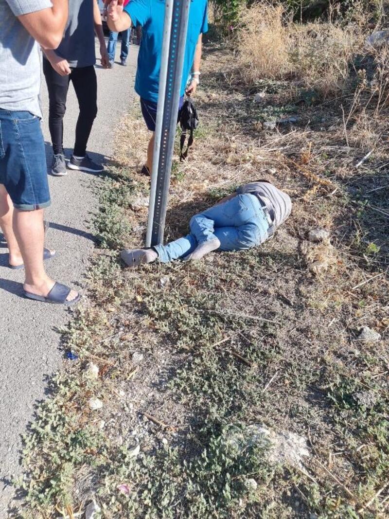 Otomobilin çarptığı motosikletli ağır yaralı
