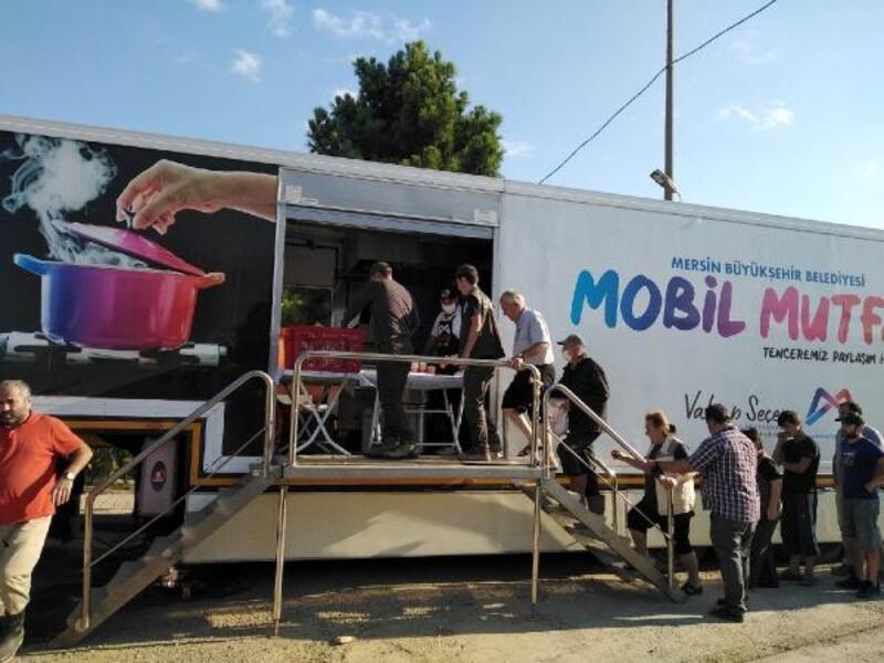 Mobil Mutfak Tırı afet bölgesinde binlerce kişiye ulaşıyor