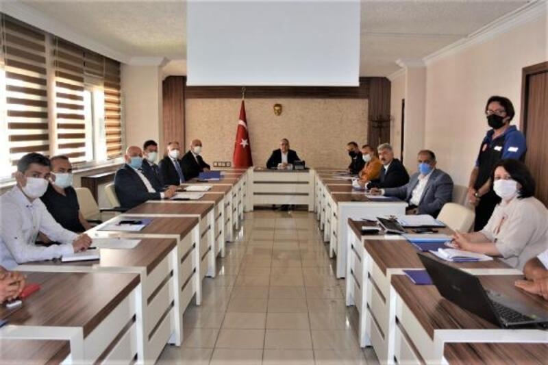 Niğde'de afet bölgesi yardım kampanyası koordinasyon toplantısı