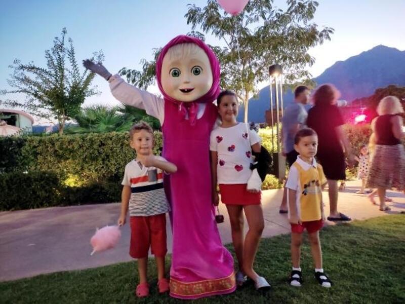 Çocuklar kendilerine özel festivalde eğlendi