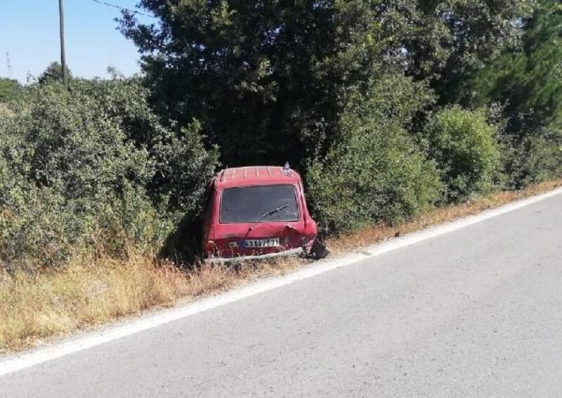 Kütahya'da iki otomobil çarpıştı: 4 yaralı