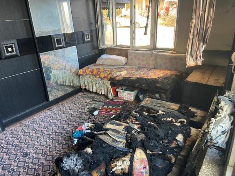 Evi yanan ailelere destek