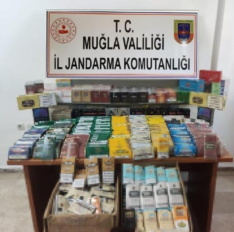 'Sakin Şehir'de gümrük kaçağı tütün ve tütün mamulleri satışı yaptığı ileri sürülen 1 kişiye gözaltı