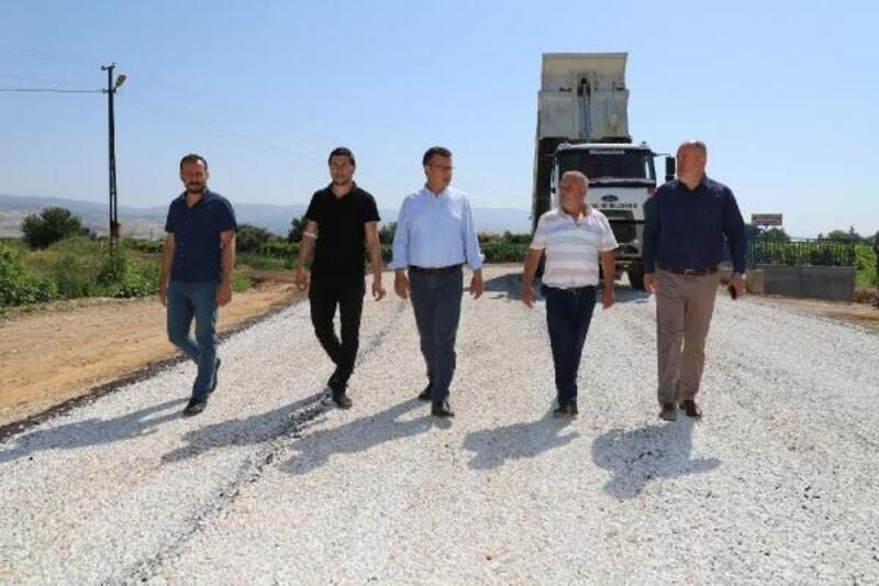 Alaşehir Belediye'sinden asfalt çalışmaları