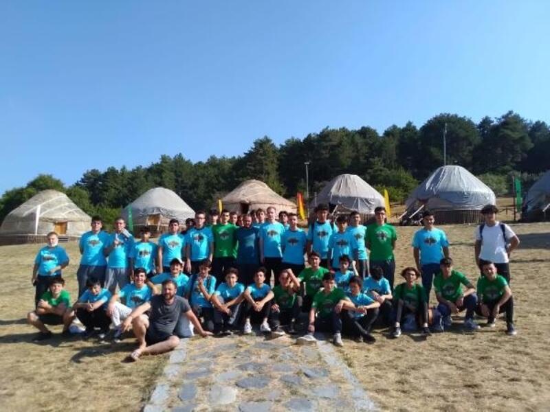 Kocayayla'da gençlik kampı başladı
