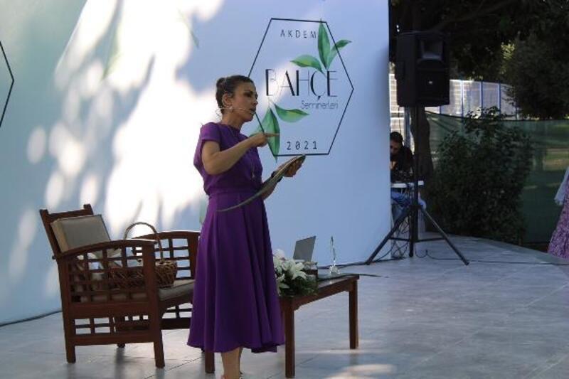 AKDEM Bahçe Seminerlerinde 'Evde ilk yardım için kullanılabilecek bitkiler' anlatıldı