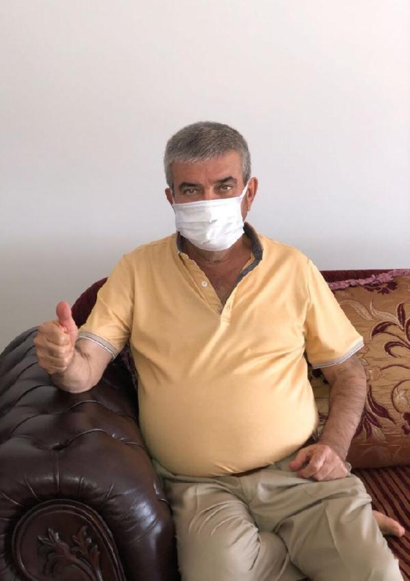 Eski başkan Tursun koronavirüsü yendi