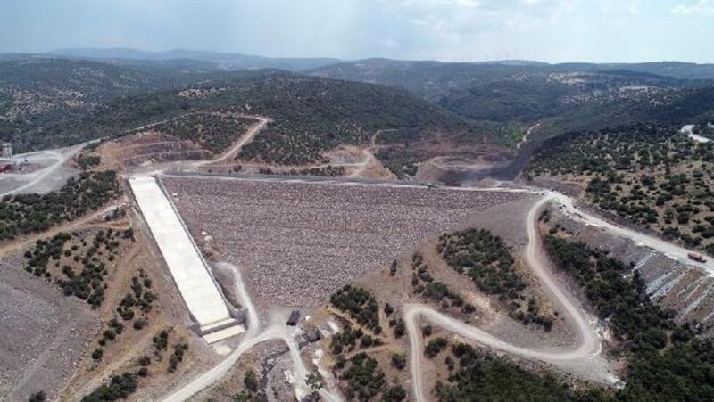 Musacalı Barajı'nda su tutulmaya başlandı