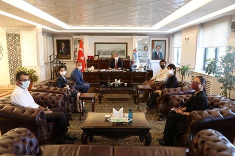 Birleşmiş Milletler Dünya Gıda Örgütü'nden Başkan Palancıoğlu'na ziyaret
