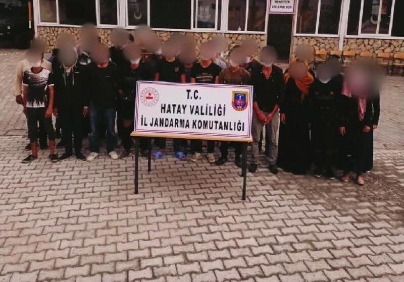 Hatay'da 336 jandarma ile huzur ve güven uygulaması gerçekleştirildi