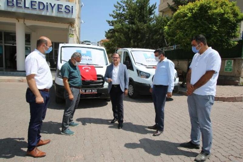 Hacılar Belediyesi araç filosunu genişletti