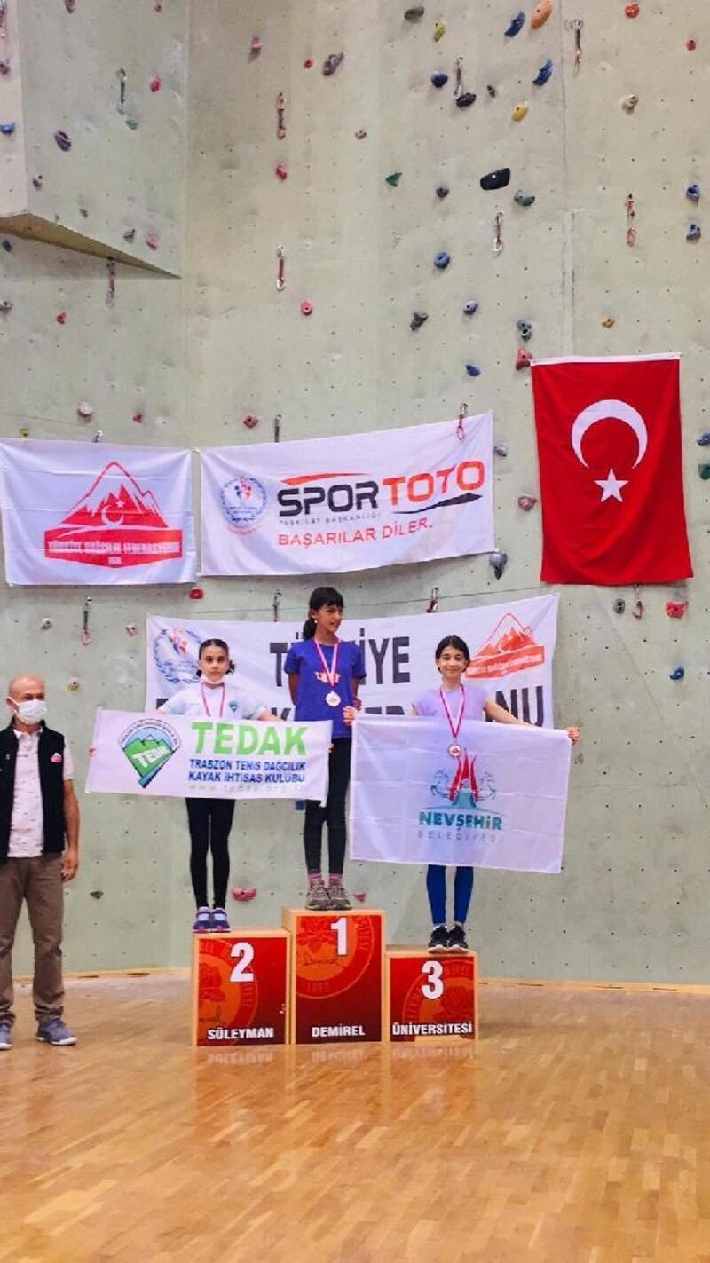 Nevşehir Belediyesporlu Zeynep Aydın'a milli davet