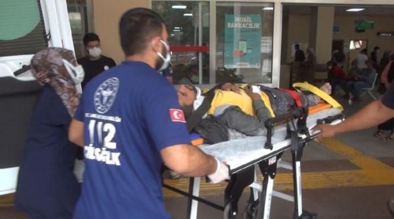 Şanlıurfa'da, inşaattan düşen kalıp ustası yaralandı