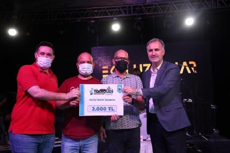 İnegöl Teknoloji Festivali'nde final yapıldı