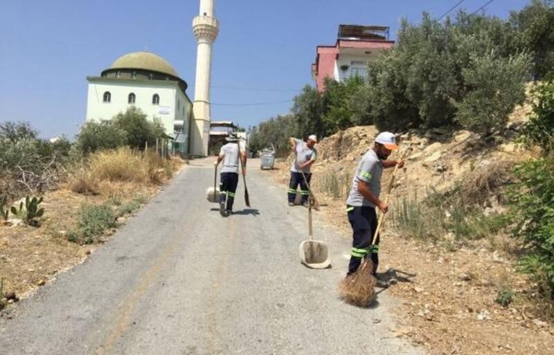 Akdeniz Belediyesi'nden kesintisiz temizlik hizmeti