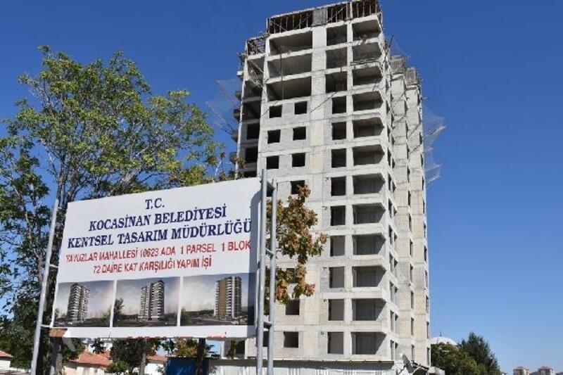 Kocasinan'da kentsel dönüşüm çalışmaları devam ediyor
