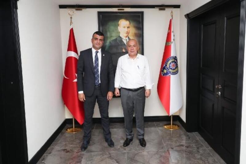 Emniyet Müdürü Aslan'dan avukatların çözüm talebine destek