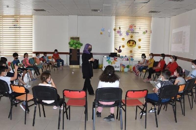 Kocasinan'da öğrenciler, yaz tatilini eğlenceli geçirdi