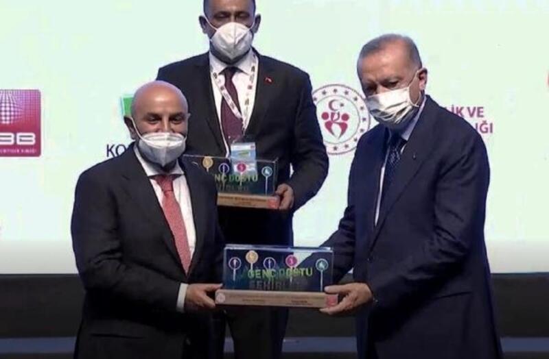 Keçiören Belediyesi 'O İş Bende' projesi ile ödül aldı